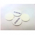 20mm PVC Sticker Disc (Mifare Ultralight EV1 / NFC)